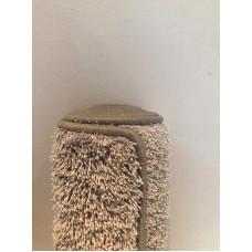 Bruin hoogpolig  |65 x 200 cm