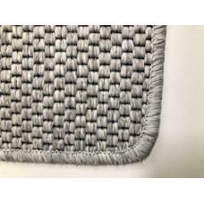 Mexico grijs zilver Vloerkleed|100 x 192 cm