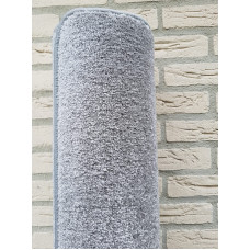 grijs muis grijs vloerkleed 200 x 300 cm